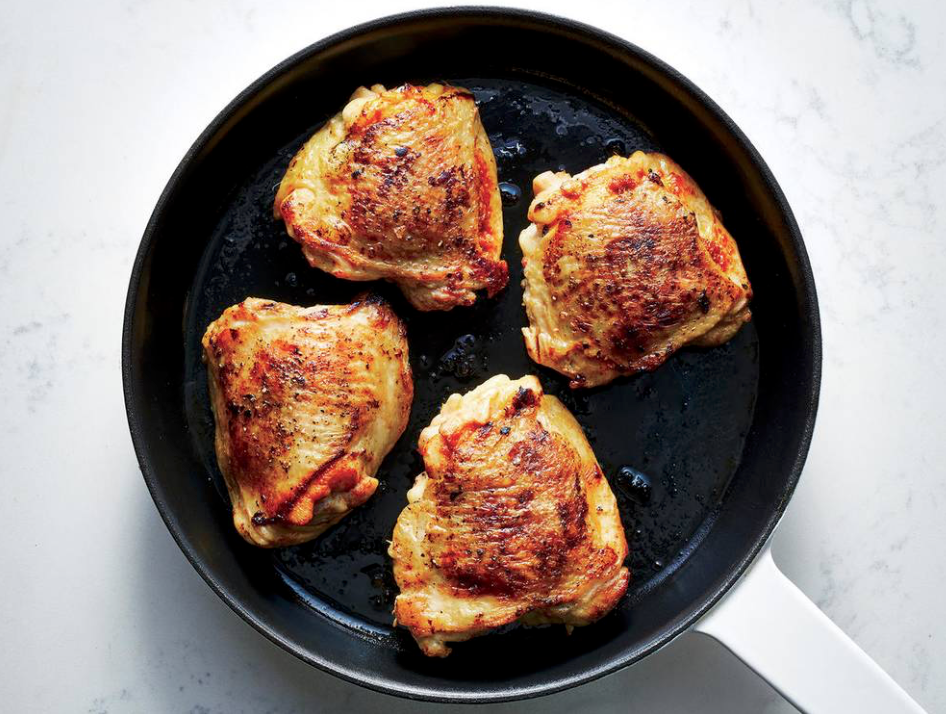 Free Range Chicken Thighs, pack of 4, 400-450g