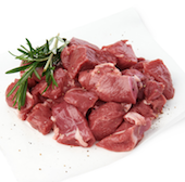 Diced Somerset Lamb  from 500g