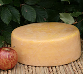 Rainbows Gold Unpasteurised Cows Milk Cheese (Rinded) Wheel approx 2Kg