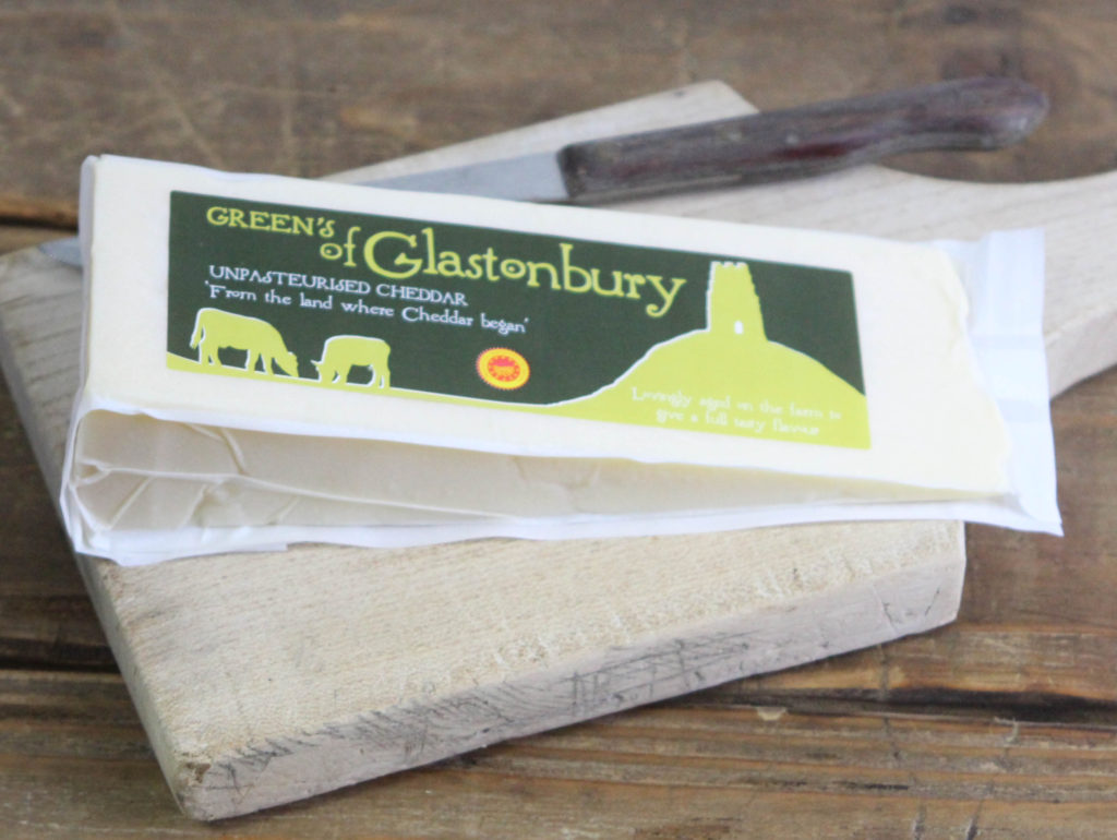 Green's Mature Cheddar, Unpasteurised, 250g