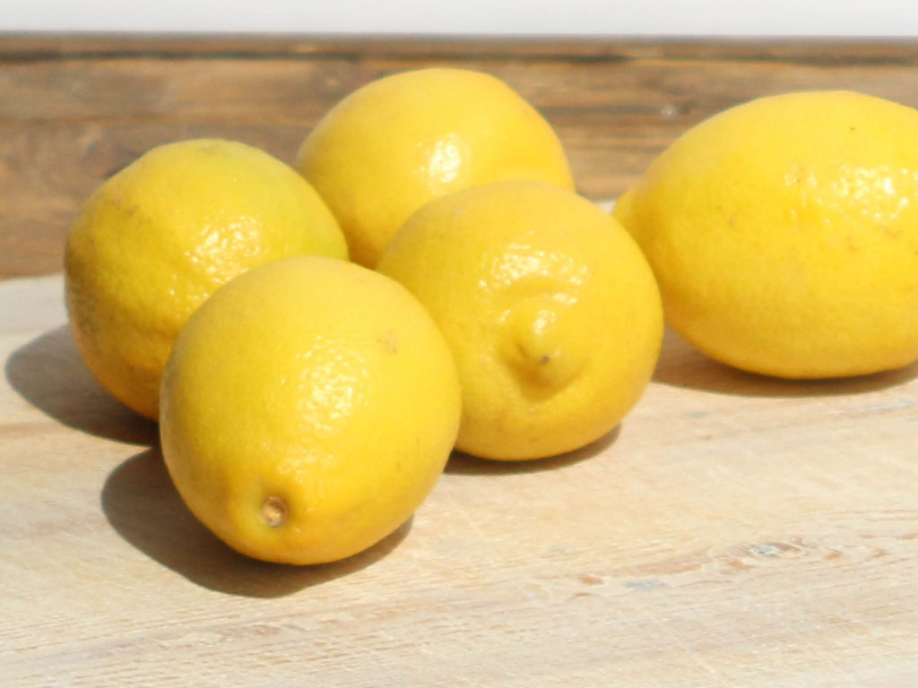 Lemon, each